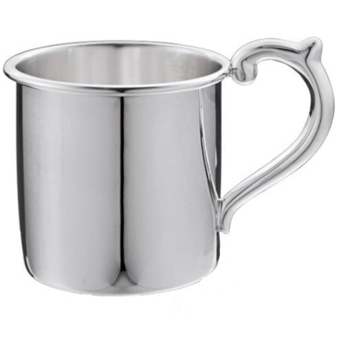"""$220.00 Plain Sterling Baby Cup - H: 2 1/8"""" x Dia: 2 3/8"""""""