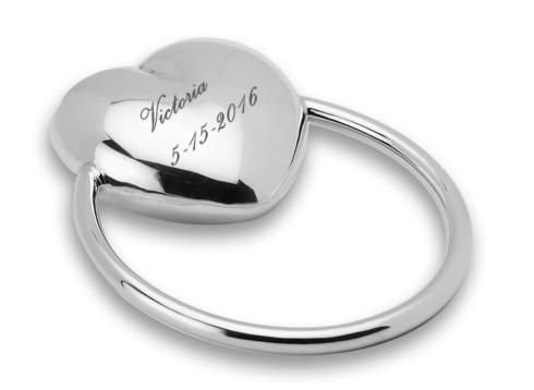$145.00 Heart Ring Rattle