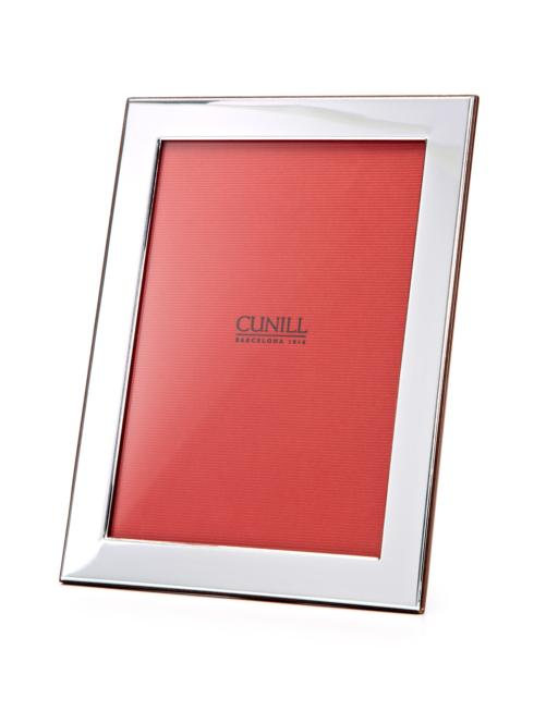 "Cunill  .925 Sterling Plain 1"" Border 5x7 $170.00"