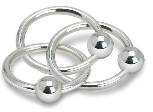 $230.00 3 Ring Ball Rattle