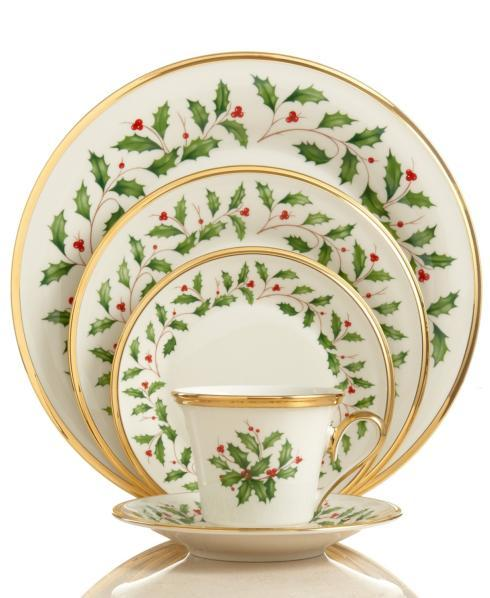 $23.00 Holiday Bread & Butter Plate