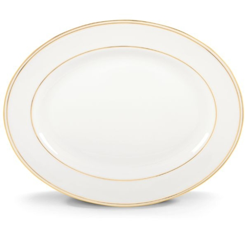 $243.00 Federal Gold Oval Platter