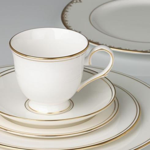 $59.00 Federal Gold Tea Cup & Saucer