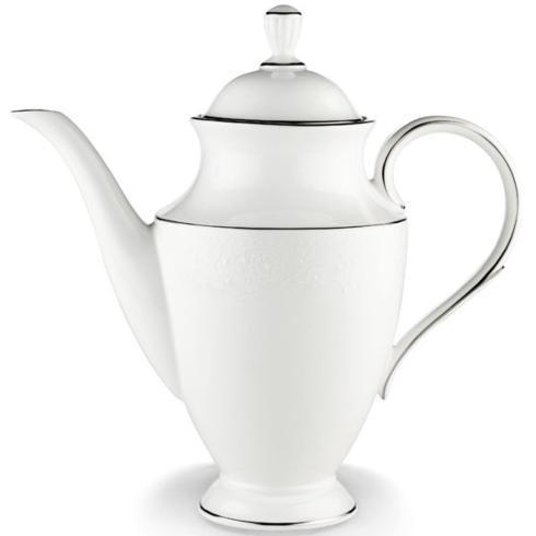 $372.00 Lenox Floral Veil Coffeepot