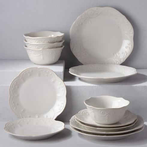 $29.00 French Perle Dinner Plate