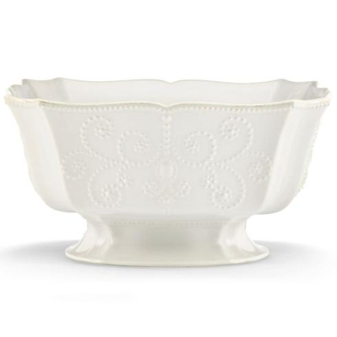 $115.00 French Perle Footed Centerpiece Bowl