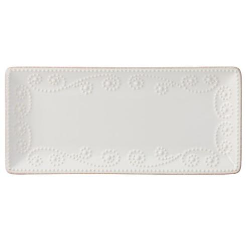 $15.00 French Perle Rectangle Serving Tray