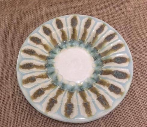 $37.00 Teal Bread Plate
