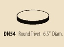 $24.00 Round Trivet