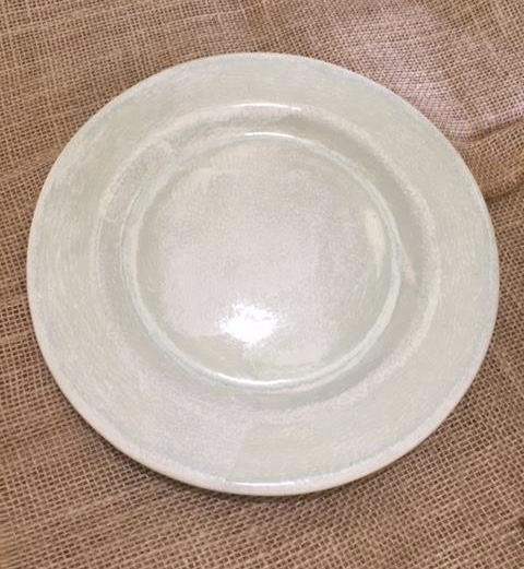 $48.00 Aqua Salad Plate