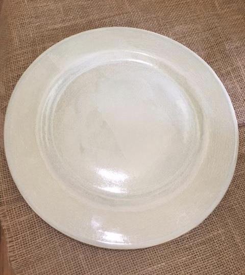 $62.00 Aqua Dinner Plate