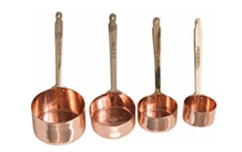 $48.00 Copper Measuring Cups