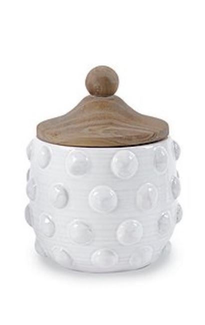 $38.00 Raised dot canister - medium