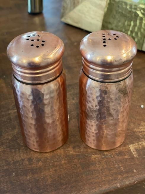 Camargo Exclusives   Copper Salt and Pepper $18.00