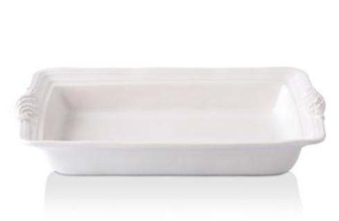 """$78.00 Juliska Acanthus Whitewash 16"""" Rectangular Baker"""