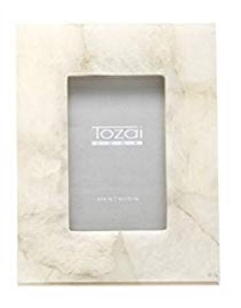 $100.00 Quartz 4x6 Frame, white