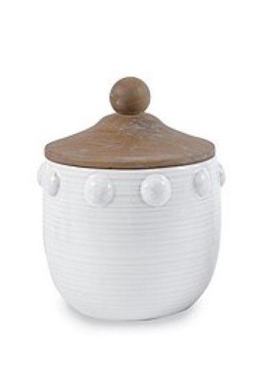 $28.00 Raised dot canister - small