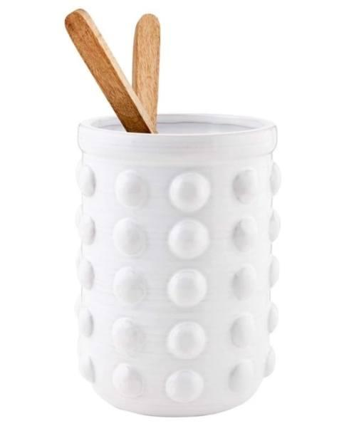 Camargo Exclusives   Studded Utensil Crock $34.00