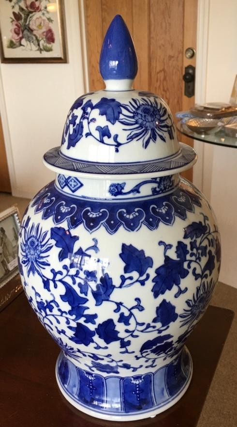 """Camargo Exclusives   Temple Jar 17"""" $112.00"""