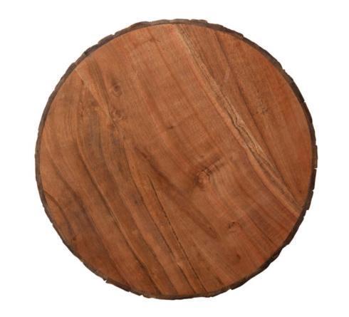 $90.00 Acacia Wood Lazy Susan