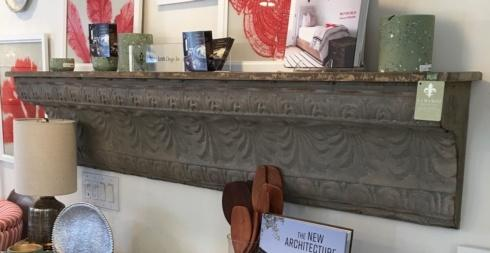 Camargo Exclusives   Decorative Metal Shelf $400.00