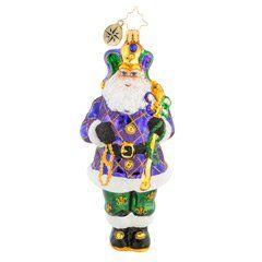 Christopher Radko   The King of New Orleans  $63.00