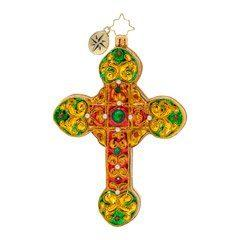 Christopher Radko  Religious  A Cherished Cross $60.00