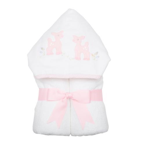 3 Marthas   Pink Deer Everykid Towel $52.00