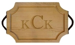 Maple Leaf at Home   18x12 Scalloped Board with Handle $173.00