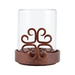 $18.00 Tejas Table Votive Montana Rustic