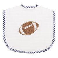 $28.00 Navy Football Large Bib