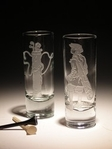 $17.50 Cordial Shot Glass 2 oz