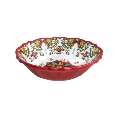 Allegra Red Cereal Bowls  collection with 1 products