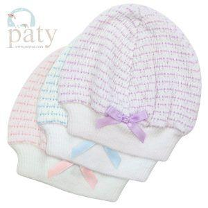 Paty   Beanie Cap With Bow $11.00