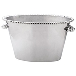 Pearled Monogrammed Ice Bucket  Double  collection with 1 products