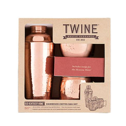 True Brands - Hammered Copper Bar Set collection with 1 products