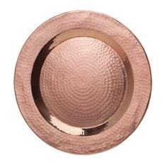 $23.00 Abigails - Element Hammered Copper Charger