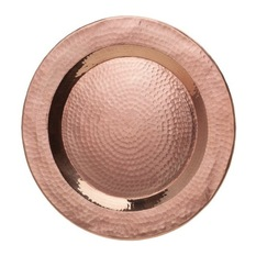 Abigails - Element Hammered Copper Charger collection with 1 products