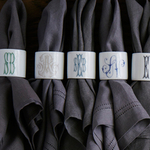 $24.00 Monogram Napkin Rings