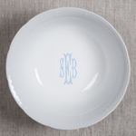 Sasha Nicholas   Weave Medium Serving Bowl with Monogram $120.00