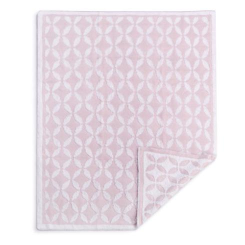 Demdaco   Pink Feather Knit Blanket $40.00