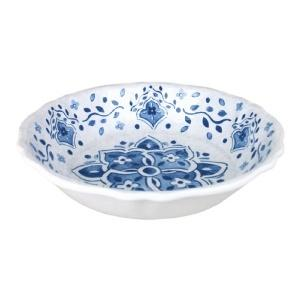 $30.00 Moroccan Blue Salad Bowl for Two