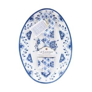 Moroccan Blue Platter Gift Set collection with 1 products