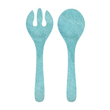Melamine Antiqua Turquoise Salad Servers collection with 1 products