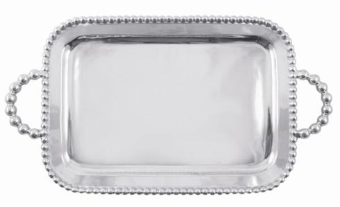 $219.00 Pearl Monogrammed Tray