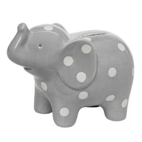 Grey Ceramic Elephant Bank collection with 1 products