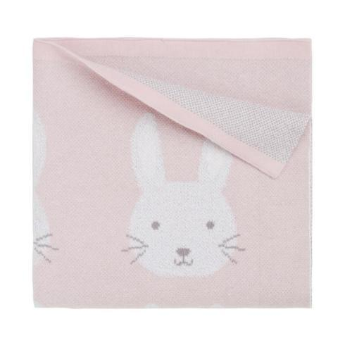$48.00 Pink Baby Bunny Blanket