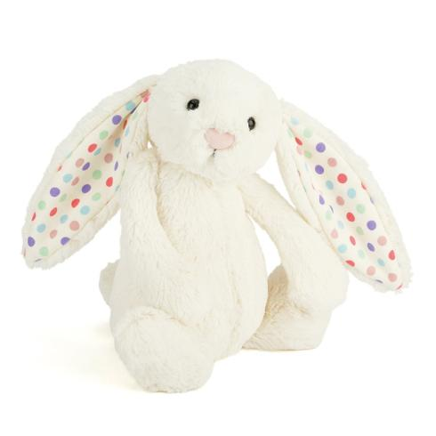 Jellycat   Bashful Dot Bunny - Small $17.00