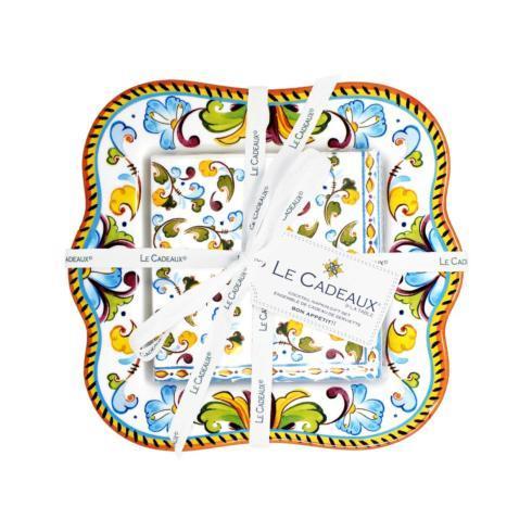 Le Cadeaux   Toscana Napkin Holder  $38.00