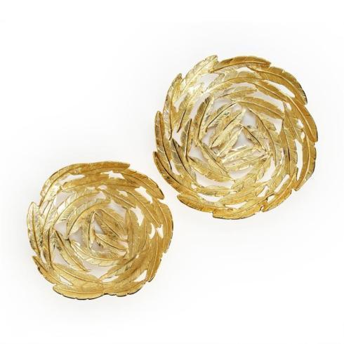 $70.00 Gold Leaf Decorative Bowl